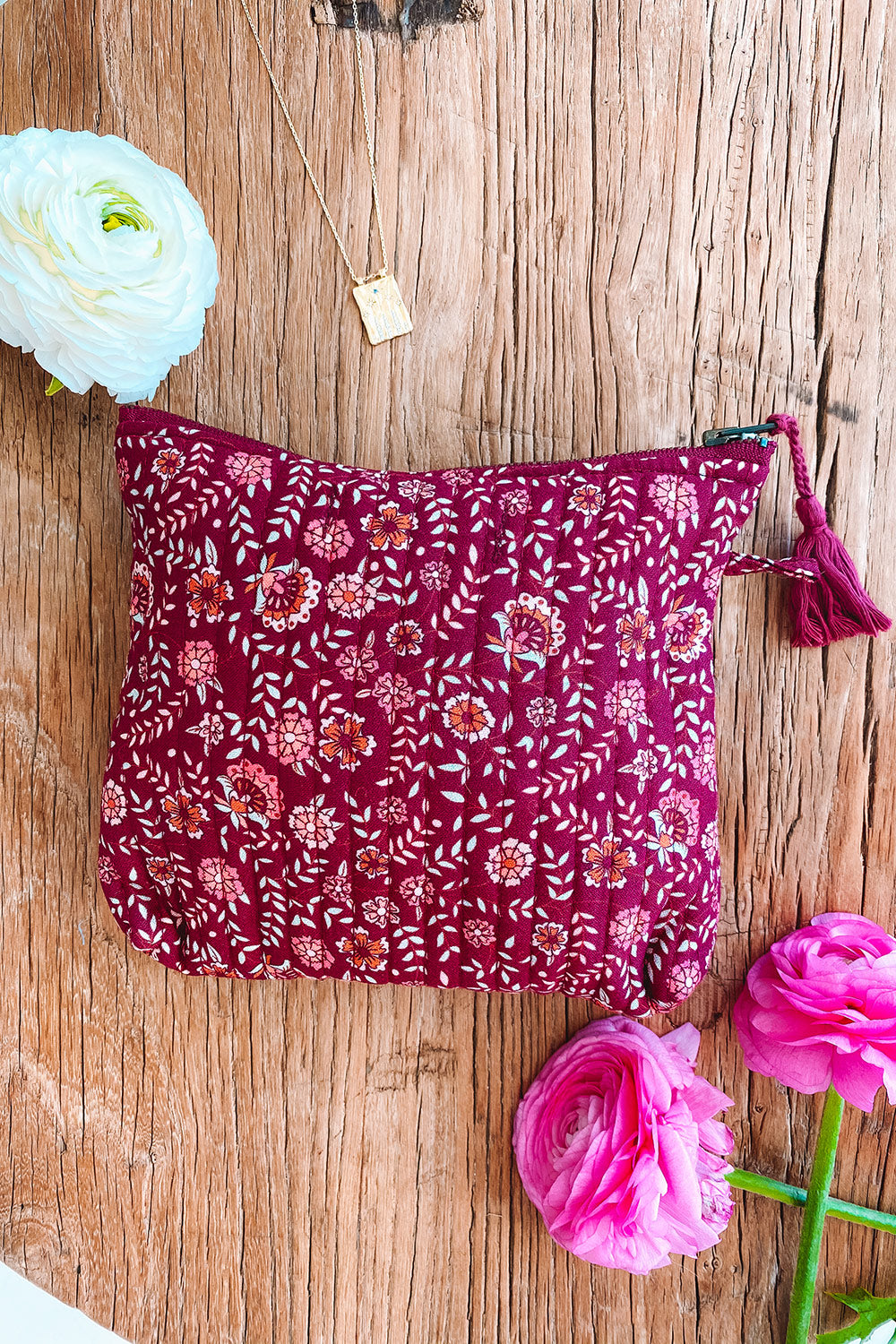 Fleetwood Revive Pouch in Floral Purple