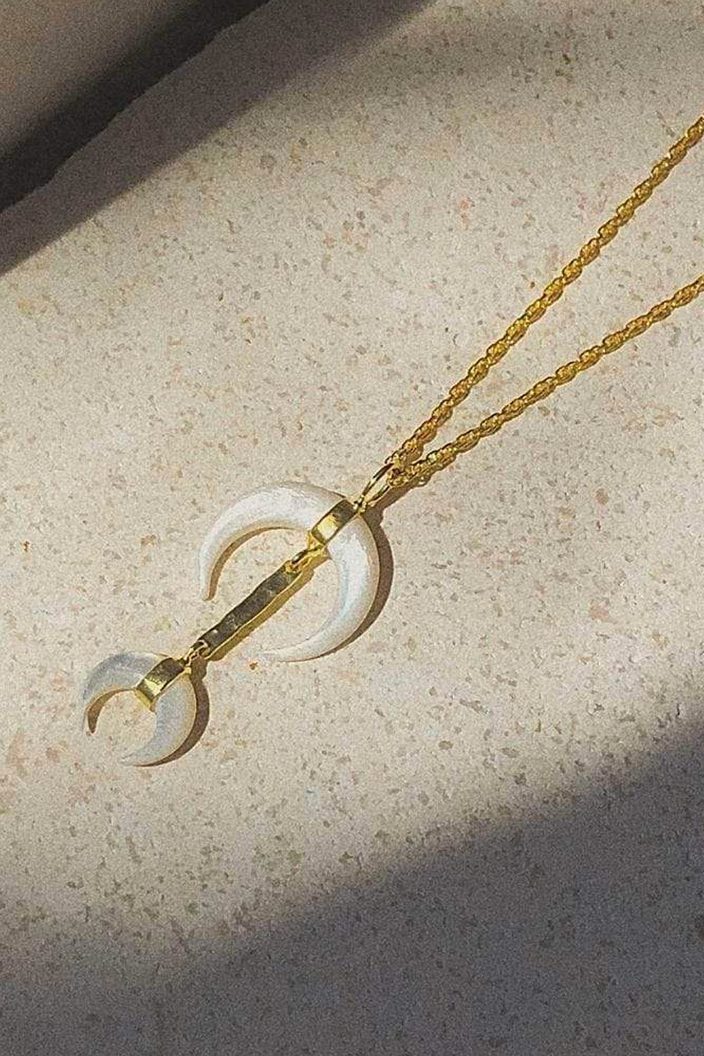 Bonito Jewelry ~ Van Gogh Moon Necklace