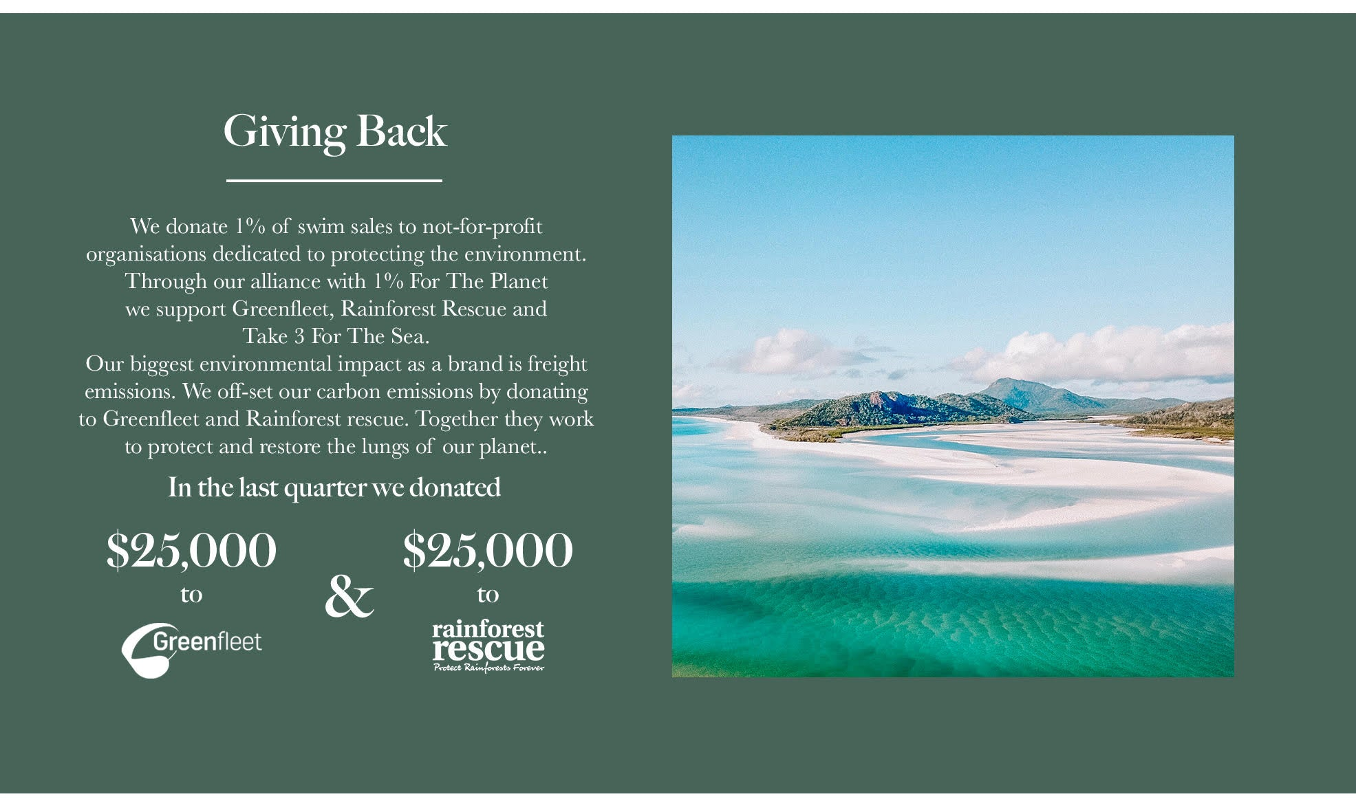 Arnhem Clothing Byron Bay are 1% for the Planet Members