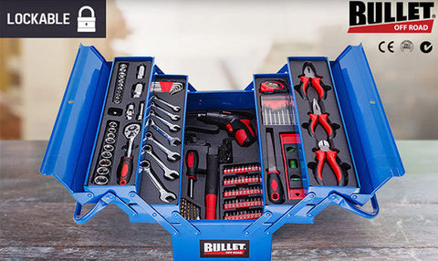 118pc Tool Box Kit Set