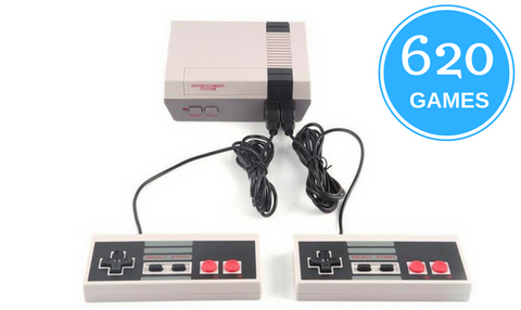 Mini Classic Game Console with 620 Built-In Games