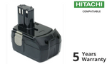 5.0Ah 18V Extended Battery For Hitachi