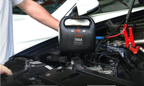 700A Peak Jump Starter Plus Air Compressor Power Bank