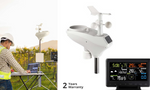 Wireless WiFi Professional Weather Station Solar Sensor LCD UV Light