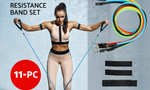 Resistance Band Set 11Pcs
