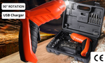 45 in 1 Cordless Screwdriver With Bits