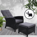 Recliner Chair Sun lounge with Ottoman