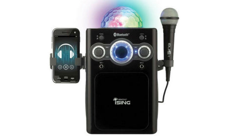 iSing Karaoke Machine With Disco Light