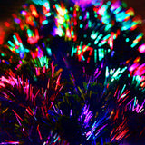 Optic Fibre Christmas Trees With LEDs