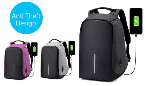 Bagpack - Anti-Theft Water Repellent Laptop Backpack
