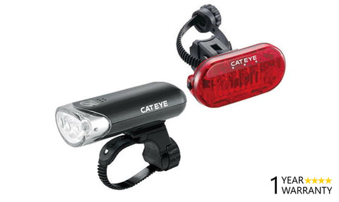 Cateye Cat Eye Bicycle Front/Rear Light