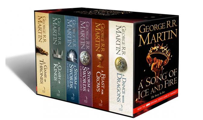 Books - Game Of Thrones: Complete Book Set