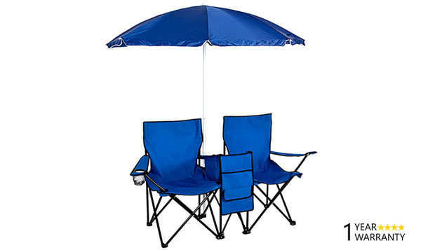 Camping Folding Chairs With Umbrella Direct On Sale