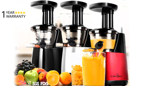 Five Star Chef Cold Press Juicer