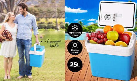 25L Portable Fridge Cooler & Warmer 12V