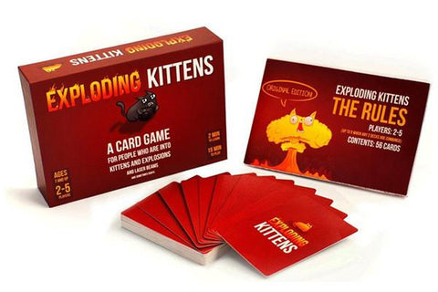 Games - Exploding Kittens Card Games