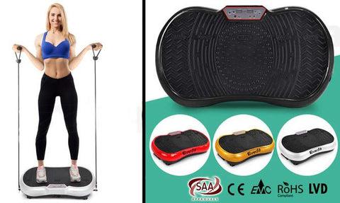 Health & Beauty - Dual-belt Motor Vibration Machine