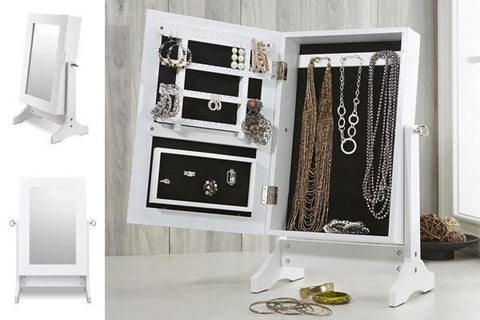 Home & Garden,Fashion,Gift Ideas,Christmas Gift Ideas,Home Storage,Home Deco,Essentials - Table Top Jewellery Organiser Cabinet