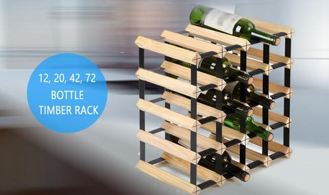 Home & Garden,Home Storage,All Of Store,End Of Season - Timber Wine Racks