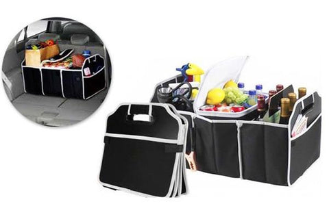 Home & Garden,Under $20 Deals,Auto Accessories - Car Boot Organiser With Cooler