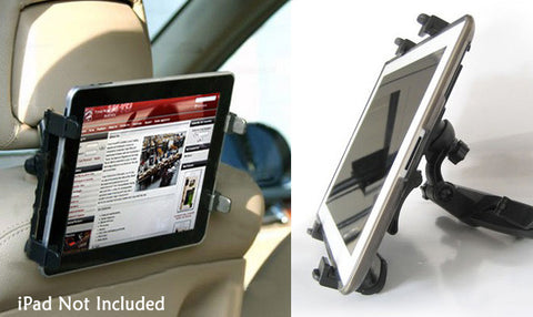 Car Back Seat iPad/Tablet Holder