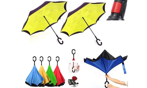 Inverted Umbrellas - Pack Of 2