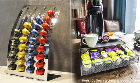 Kitchen & Dining - Nespresso Coffee Capsules Pod Holder