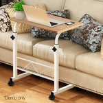 Portable Height Adjustable Wooden Laptop Table