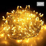 LED Light - 500 LED Christmas String Lights With 8 Lighting Effects