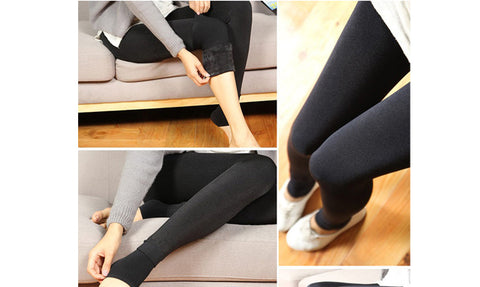 Women Warm Winter Fitness Leggings