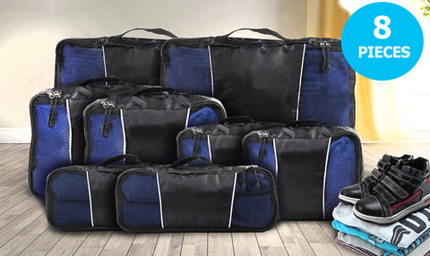 8 Pcs Luggage Organiser Set