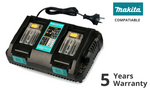 Rapid Dual Port Battery Charger For Makita