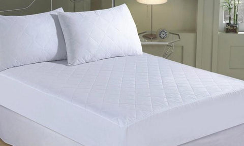 Mattress - Quilted Cotton Mattress Protector