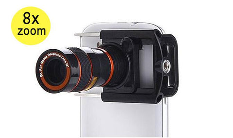 Mobile Accessory - 8x Zoom Telescopic Camera Lens For Mobile Phones