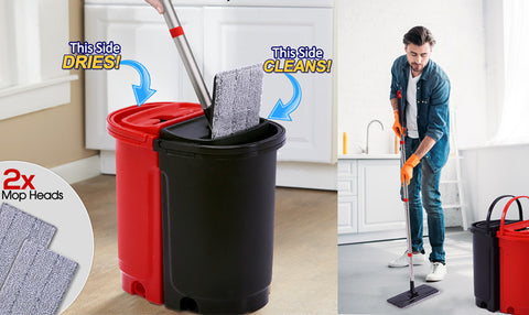 Self cleaning Mop System