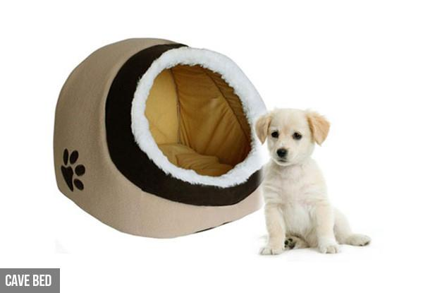 Pet Bed - Cosy Pet Igloo Bed Or Padded Bed