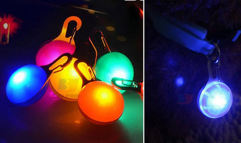 Pet Led Collar Pendents - Set Of 2