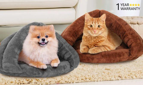 Pet Product - Cave Style Pet Bed