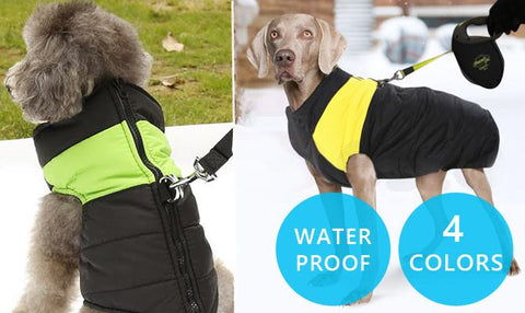 Pet Product - Water-Resistant Dog Jacket