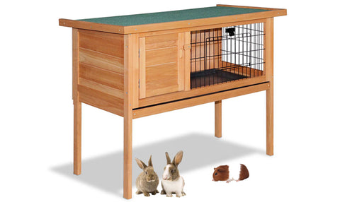 Rabbit/ Guinea Pig/ Chicken Hutch with Hinged Lid