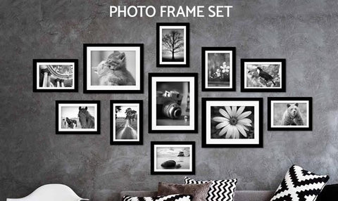 Photo Frame - Photo Frame Set - 11Pcs
