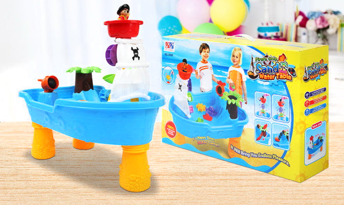 Pirate Ship Beach Play Set