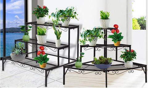 Plant Stand - Indoor/Outdoor Metal Plant Stand