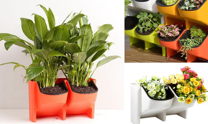 Stackable Flower Pots