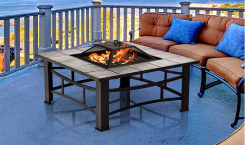 Range Of Outdoor Fire Pits - Available In Three Designs