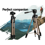 Professional Camera Tripod With Ball Head