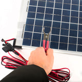 10W Solar Panel With Built-In Regulator