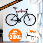 Vertical/Horizontal Wall Bicycle Holder