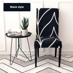 4x Dining Chair Spandex Slip Covers