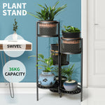 6 Tier Swivel Matal Plant Stand